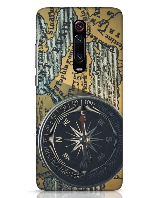 Shop Compass Xiaomi Redmi K20 Mobile Cover-Front