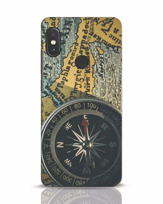 Shop Compass Xiaomi Redmi Note 5 Pro Mobile Cover-Front