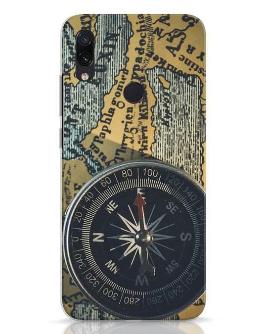 Shop Compass Xiaomi Redmi Note 7 Mobile Cover-Front