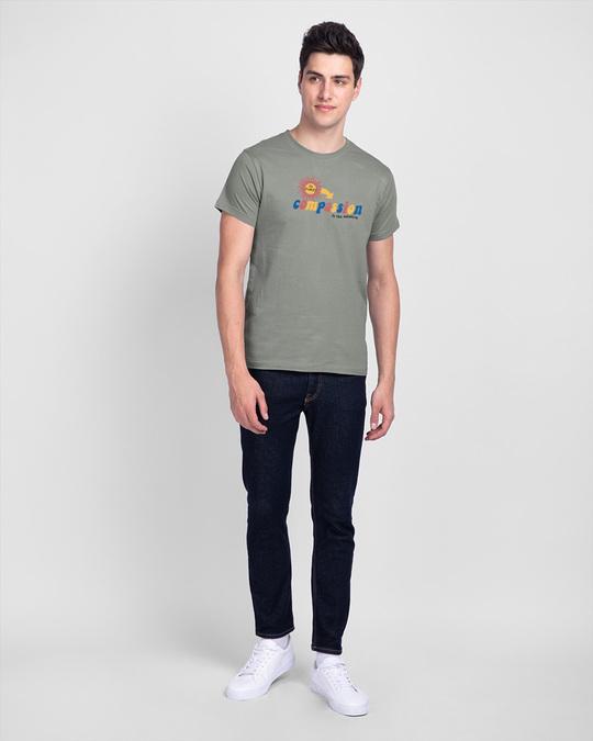 Shop Compassion Solution Half Sleeve T-Shirt-Full