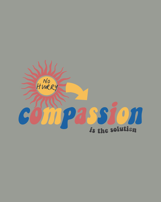 Shop Compassion Solution Half Sleeve T-Shirt
