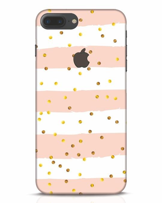 Shop Confetti iPhone 7 Plus Logo Cut Mobile Cover-Front