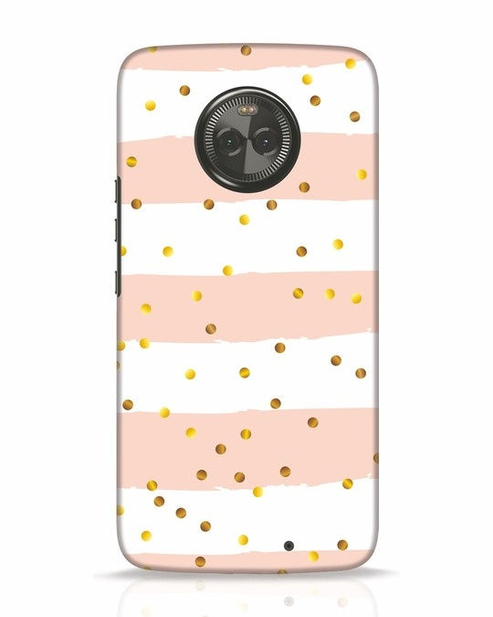Shop Confetti Moto X4 Mobile Cover-Front