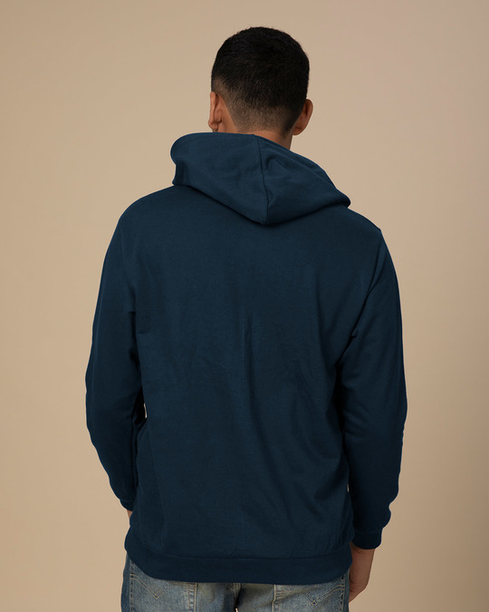 Shop Conquer The World Fleece Hoodies-Back