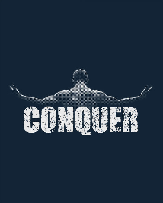 Shop Conquer The World Full Sleeve T-Shirt