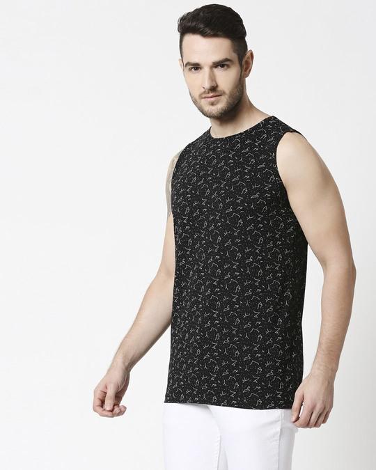 Shop Constellations AOP Vest-Back