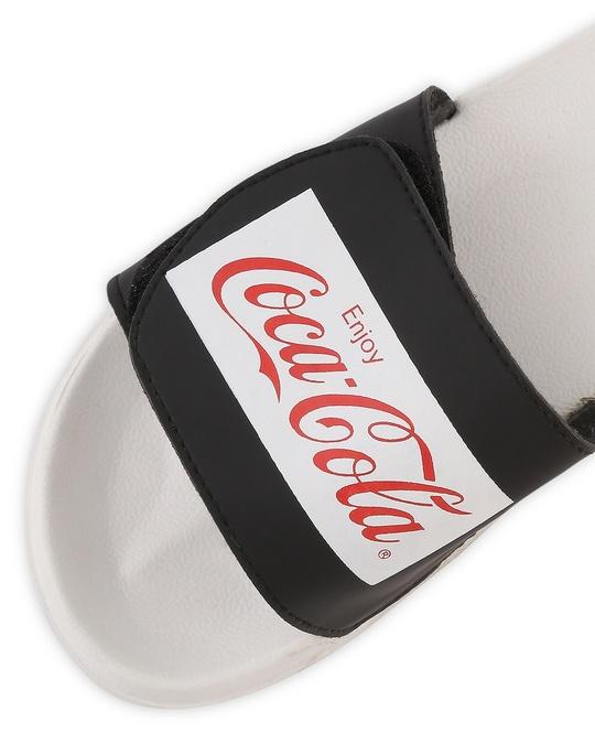Shop Contrast Coca-Cola Lightweight Adjustable Strap Men Slider