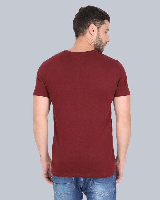 Shop Pocket Design T Shirt Maronn