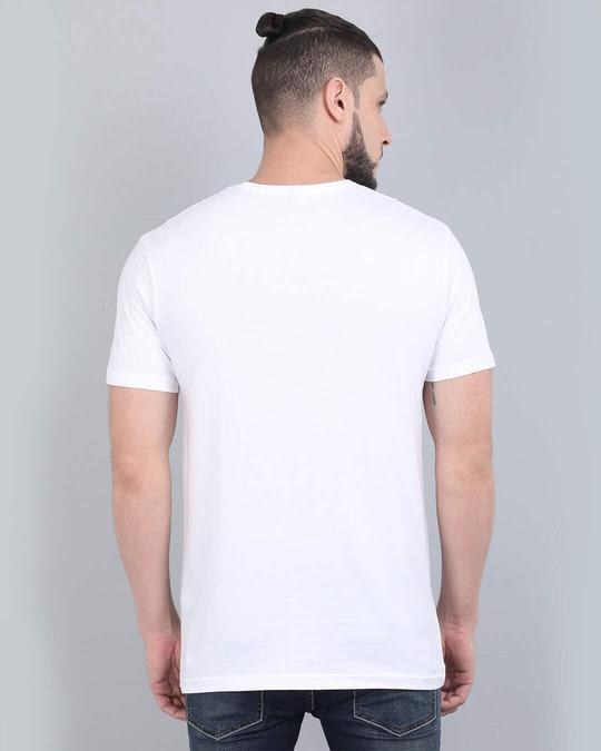 Shop Pocket Design T Shirt White