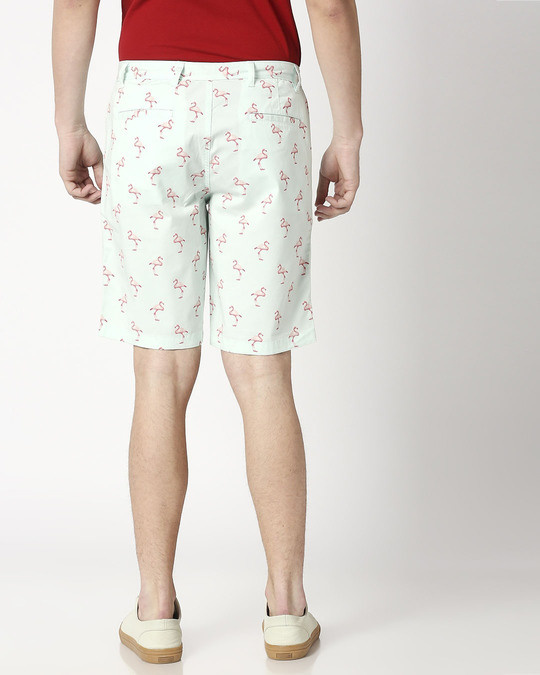 Shop Cool Flamingo Men's Shorts-Full