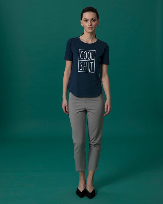 Shop Cool Shit Basic Round Hem T-Shirt-Full