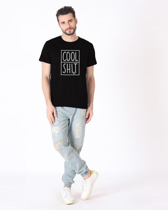 Shop Cool Shit Half Sleeve T-Shirt