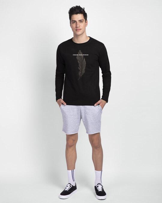 Shop Create Good Stories Full Sleeve T-Shirt Black-Design
