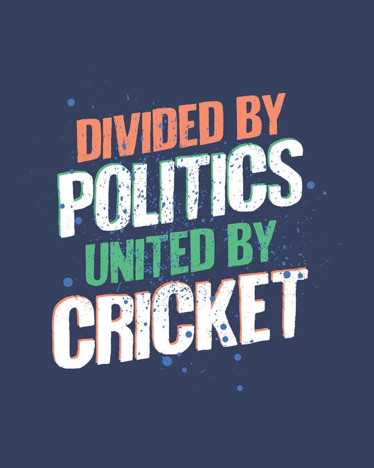 Shop Cricket Unity Half Sleeve T-Shirt-Full