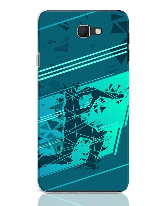Shop Cricketer Abstract Samsung Galaxy J7 Prime Mobile Cover-Front