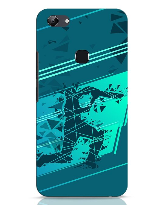 Shop Cricketer Abstract Vivo Y83 Mobile Cover-Front