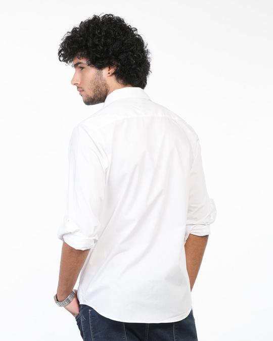 Shop Crisp White Regular Fit Shirt-Full