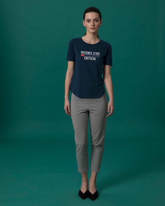Shop Critical Patience Basic Round Hem T-Shirt-Full