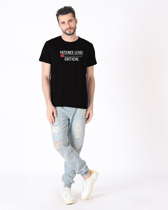 Shop Critical Patience Half Sleeve T-Shirt