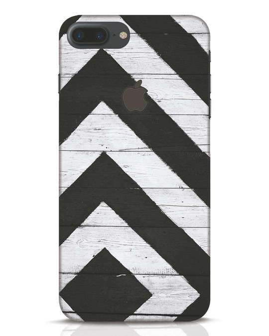 Shop Cross Road iPhone 7 Plus Logo Cut Mobile Cover-Front
