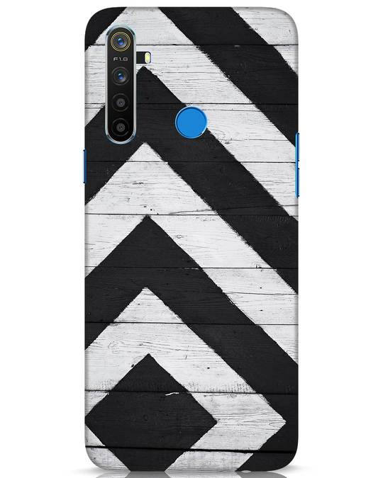 Shop Cross Road Realme 5 Mobile Cover-Front