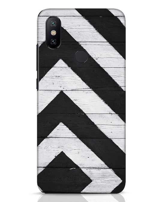 Shop Cross Road Xiaomi Mi A2 Mobile Cover-Front