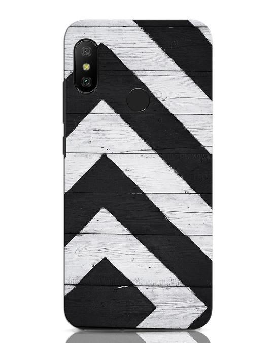 Shop Cross Road Xiaomi Redmi Note 6 Pro Mobile Cover-Front