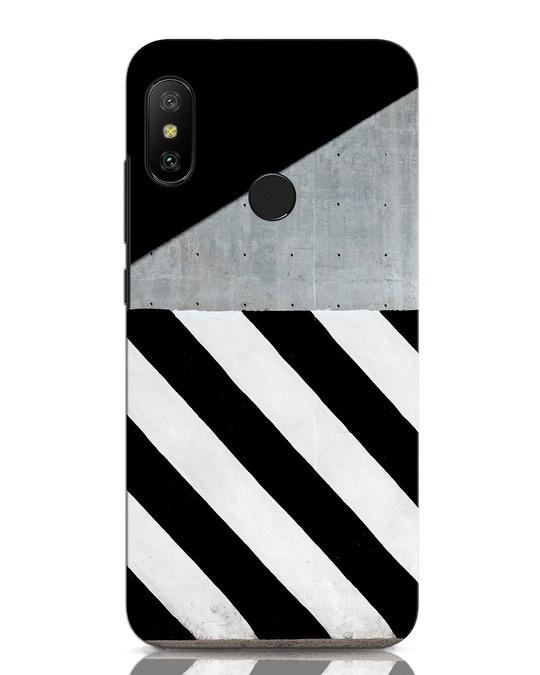 Shop Crossroads Stripes Xiaomi Redmi Note 6 Pro Mobile Cover-Front