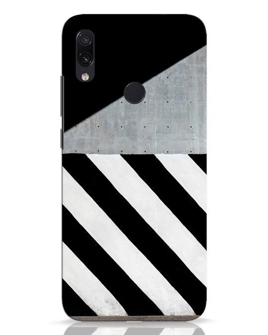 Shop Crossroads Stripes Xiaomi Redmi Note 7 Pro Mobile Cover-Front