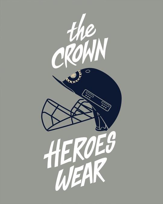 Shop Crown Helmet Boyfriend T-Shirt