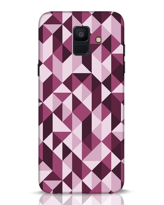 Shop Crystal Samsung Galaxy A6 2018 Mobile Cover-Front