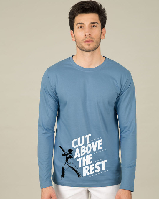 Shop Cut Above The Rest Full Sleeve T-Shirt-Front