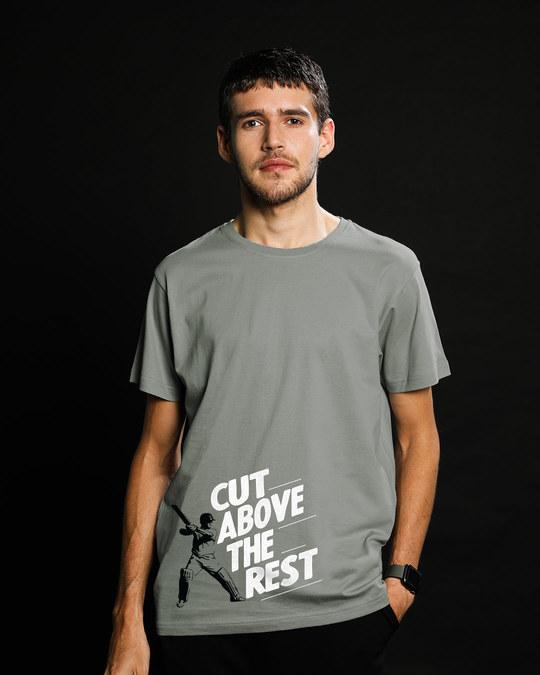 Shop Cut Above The Rest Half Sleeve T-Shirt-Back