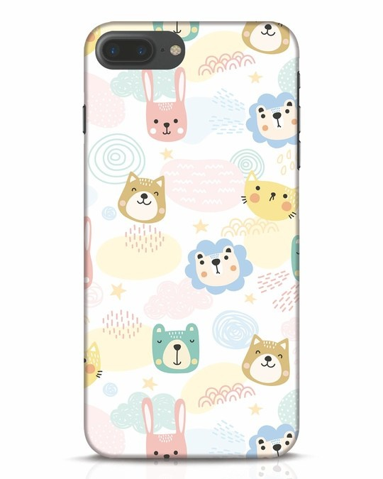 Shop Cute Animals iPhone 7 Plus Mobile Cover-Front