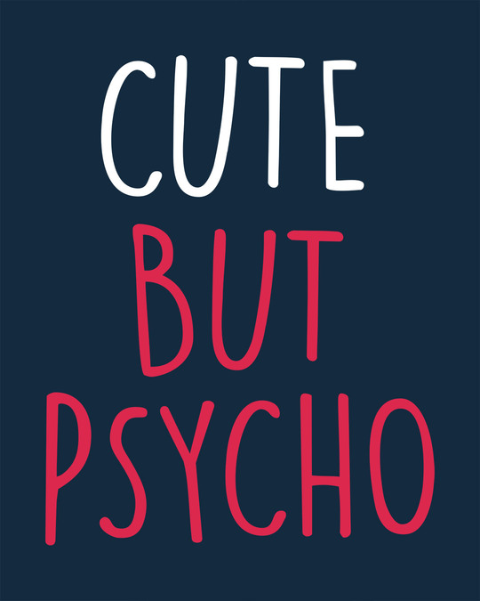 Shop Cute But Psycho Boyfriend T-Shirt