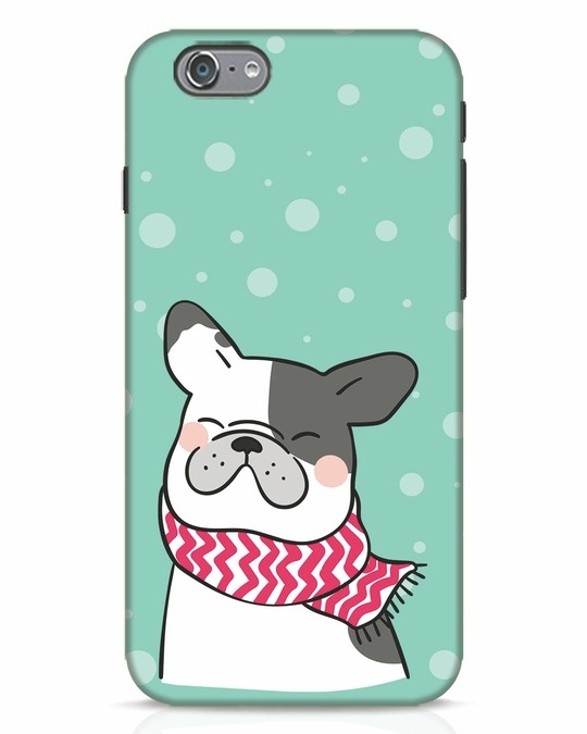 Shop Cute Doggy iPhone 6 Mobile Cover-Front