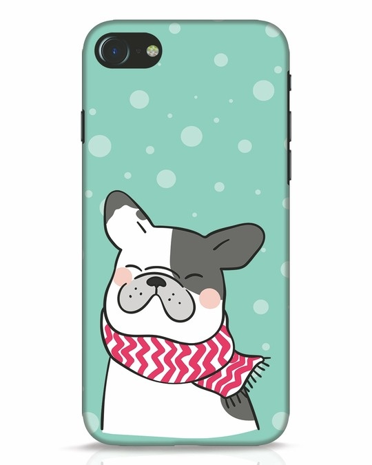 Shop Cute Doggy iPhone 8 Mobile Cover-Front