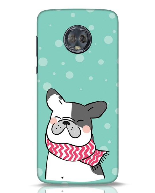 Shop Cute Doggy Moto G6 Mobile Cover-Front