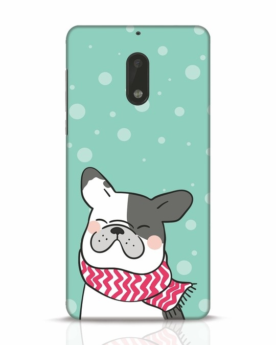 Shop Cute Doggy Nokia 6 Mobile Cover-Front
