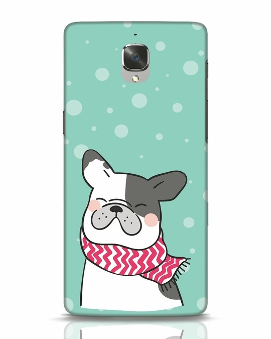 Shop Cute Doggy OnePlus 3 Mobile Cover-Front