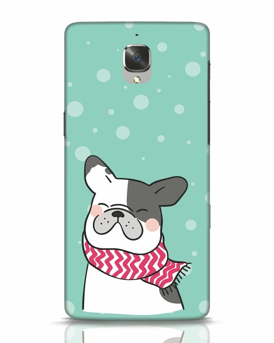 Shop Cute Doggy OnePlus 3T Mobile Cover-Front