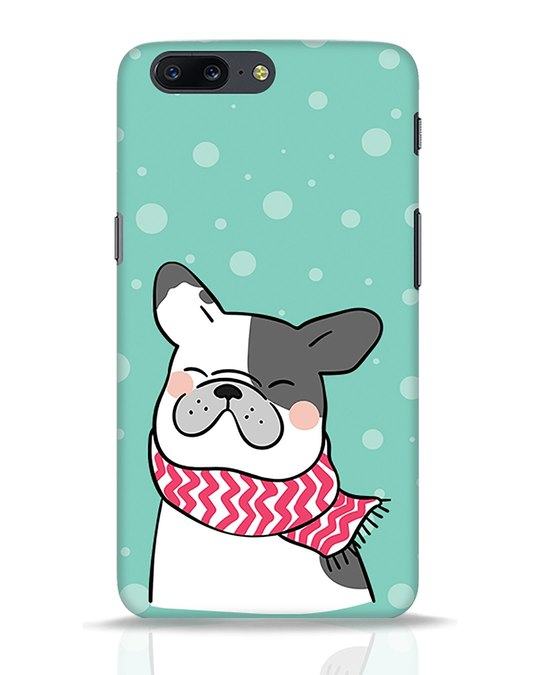 Shop Cute Doggy OnePlus 5 Mobile Cover-Front