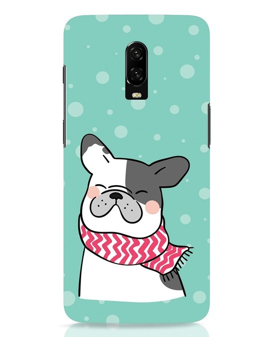 Shop Cute Doggy OnePlus 6T Mobile Cover-Front