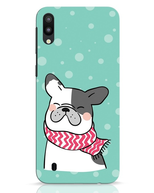 Shop Cute Doggy Samsung Galaxy M10 Mobile Cover-Front