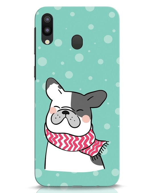 Shop Cute Doggy Samsung Galaxy M20 Mobile Cover-Front