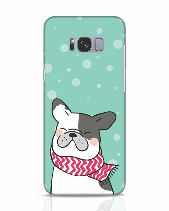 Shop Cute Doggy Samsung Galaxy S8 Mobile Cover-Front