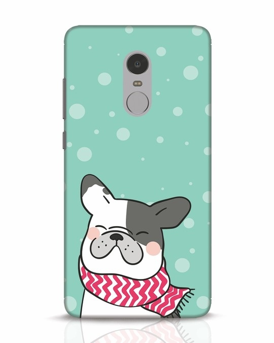 Shop Cute Doggy Xiaomi Redmi Note 4 Mobile Cover-Front