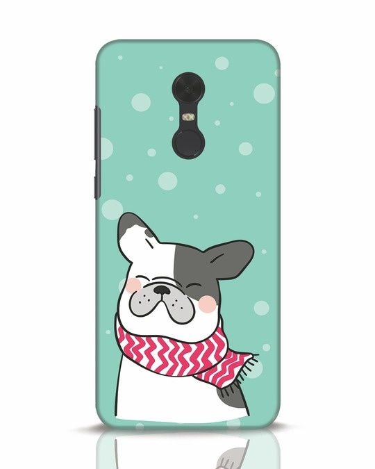 Shop Cute Doggy Xiaomi Redmi Note 5 Mobile Cover-Front