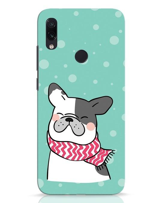 Shop Cute Doggy Xiaomi Redmi Note 7 Pro Mobile Cover-Front