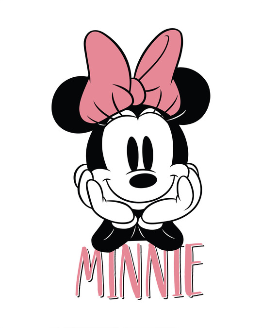 Shop Cute Minnie Boyfriend T-Shirt (DL)